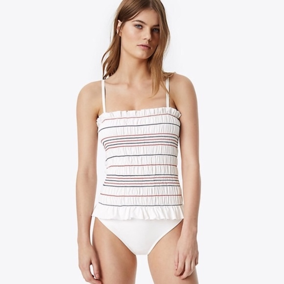 16671f1a5773c Tory Burch Swim   Nwt Costa Onepiece Suit White   Poshmark